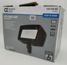 Commercial Electric Architectural Dark Bronze Outdoor Integrated LED Flood Light