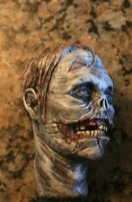 custom painted walking dead zombie head version 1 for 12 inch body