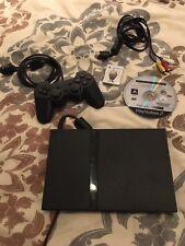 Sony Playstation 2 Slim+Spiel+Memory Card+ Controller