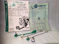 Subbuteo Portieri Istruzioni listino prezzi 1975