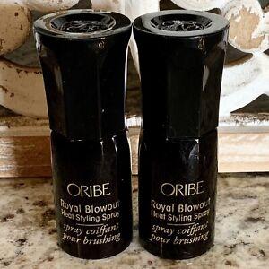 2X Oribe Royal Blowout Heat Styling Spray MINI 40ml/1.34oz TOTAL NEW + 🎁