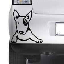 CUTE Bull Terrier Puppy Dog Wall Art Home Sticker Animal Decal Pet Vinyl Decor