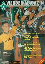 Programm 1998/99 SV Werder Bremen - FC Nürnberg