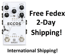 New Keeley Eccos Tape Delay Looper Guitar Effects Pedal