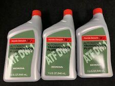 3 Quarts Honda Atf Dw-1 Automatic Transmission Fluid Genuine 08200-9008