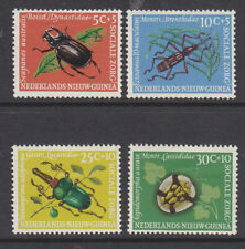 New Guinea 1961 Insects set MH