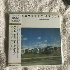 PAT METHENY AMERICAN GARAGE 24kt ECM Gold CD Mini-LP OBI 24bit Mastering NEW