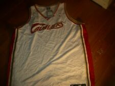 Cleveland Cavaliers AUTHENTIC ADIDAS HUGE sz56 White Jersey,CUSTOMIZE $55  MORE