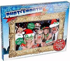 CHRISTMAS SELFIE PHOTO BOOTH OFFICE PARTY FUN GIFT WORK SECRET SANTA 25pc BOXED