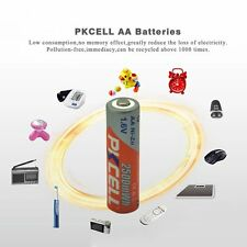 8pcs 2500mWh 1.6V PKCELL Ni-Zn AA Rechargeable Battery For Electronic Products E