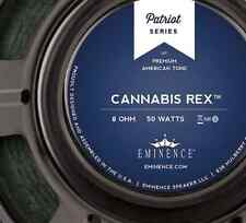 "Eminence Patriot Cannabis Rex 12"" 50W Guitar Speaker with Hemp Cone  8 Ohm"