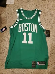 Nike Authentic Boston Celtics Kyrie Irving Road Green Jersey 863015-316 Size 48