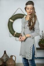 Jeanne D Arc Living Tunika Kleid Strick Gr.XL - XXL JDL Vintage Mode Baumwolle