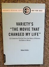 """VARIETY'S """"THE MOVIE THAT CHANGED MY LIFE""""-2009 DeCAPO PRESS NEW ADVANCE REVIEW"""