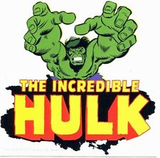 THE INCREDIBLE HULK retro reach STICKER **FREE SHIPPING* avengers marvel -d15722