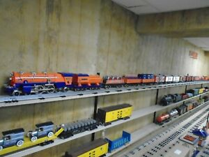 MTH Std. Gauge Lionel Corporation Tinplate 400e and freight 17 cars LN and boxes