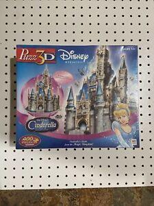 Disney Princess Puzz3D Cinderella Castle Foam Puzzle 400 pieces New & Sealed