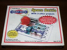 Radio Shack ELECTRONICS SNAP KIT SPACE BATTLE + 3 Others NEW IN BOX QC842 8+