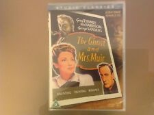 THE GHOST AND MRS MUIR DVD - REX HARRISON / GENE TIERNEY - BRAND NEW & SEALED