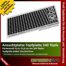 Topfplatte 240 - Anzuchtplatte Profi, Topfpalette Anzuchtpalette Multitopfplatte