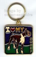 BOXER Dog Key Ring Keychain Key Chain NEW Great gift Animal Pet I love my