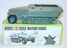 Airfix England 1:32 German WWII HANOMAG Personnel Carrier HALF TRACK MIB`71 Rare