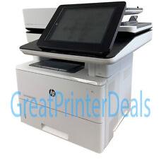 HP LaserJet Enterprise Flow MFP M527c Printer WOW Only 6,573 pages ! F2A81A