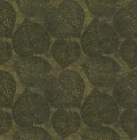 Tapete, Designtapete, Struktur, Leinen, Blätter, Schimmer, Tannengrün, Coal