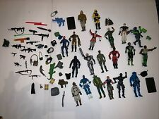 Large lot of (20) Gi Joe Action Figures + parts 2001 And Newer Authentic Guns