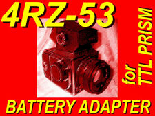 BATTERY INSERT ADAPTER fr KIEV-88 camera TTL prism 4RZ53 substitute power source