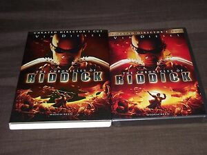 THE CHRONICLES OF RIDDICK,WIDESCREEN DIRECTOR'S CUT - BRAND NEW,UNOPENED!!!!!!!!