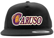 Los Angeles Lakers Alex Caruso Logo Snapback Hat
