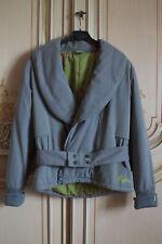 Woman grey jacket giubbino grigio donna Skunkfunk Beroki (Size S)