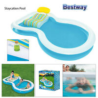 Bestway Staycation Inflatable Paddling Pool Outdoor Garden Summer Swimming Spa