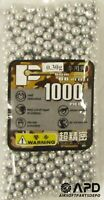 P-Force Metallic .30g 6mm 1000 Aluminum High Quality Competition Grade BBs