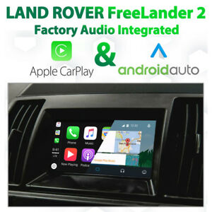 Land Rover Freelander2 2012-15 - Apple CarPlay & Android Auto Integration