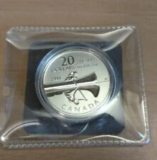 2011 Canada (20$ for 20$) .9999 Fine silver Coin Canoe no coa