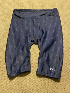 Men's TYR Fusion 2 Fina Jammers Racing Swimsuit Compression Shorts 28