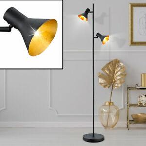 Rétro Lampadaire Chambre à Coucher Récolte Lumière Plafonniers Mobile avec Pied
