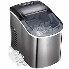 Portable Countertop Ice Maker,9 Cubes Ready in 6-8 Minutes,Comact Ice Maker Mach