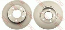 NEW BRAKE ENGINEERING BRAKE DISCS REAR 230mm PAIR AUDI SEAT SKODA VW  DI955639