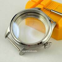 47mm 316L stainless steel CASE fit eta 6497 6498 hand winding movement watch CA6