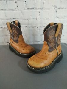 PRE-OWNED unisex toddler ROPER / FAT BABY western cowboy boots - SIZE 9