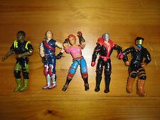 GI Joe Action Figures Mixed Lot 5 Hasbro 3.5 inch Assorted Characters Mixed N