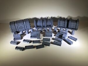 Scatter Terrain Cargo Drop Great for Warhammer 40K Infinity Necromunda Kill Team