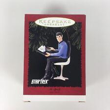 1996 Hallmark Keepsake Ornament Star Trek Mr. Spock Handcrafted Holiday