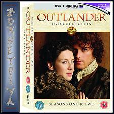 OUTLANDER - COMPLETE SEASONS 1 & 2 *BRAND NEW DVD BOXSET **