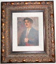 ARMENIAN ART GALLERY-Socialist Realist Painting,SOVIET STUDENT,Armenia 1950s
