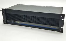 QSC Model 1400 Professional 2-Channel Stereo Power Amplifier Amp 200WPC 8-Ohms