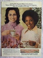 1977 Magazine Advertisement Page General Food International Coffee Coffees Ad